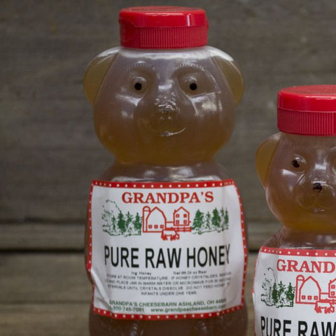Raw Local Honey Bear