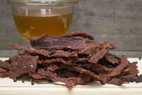 Honey Glazed Peppered Beef Jerky