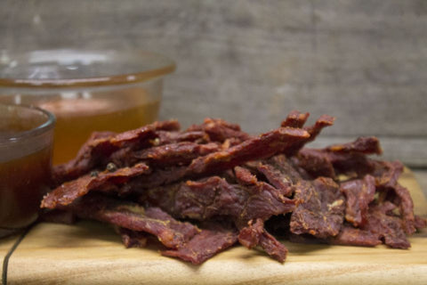 Honey Glazed Teriyaki Beef Jerky