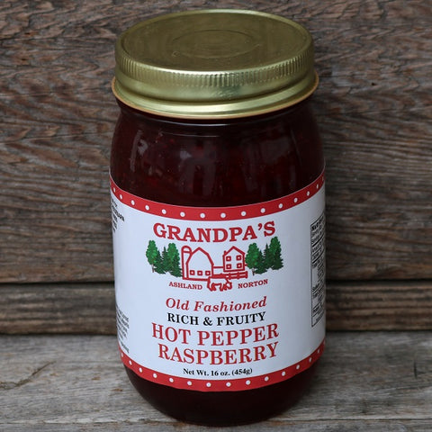 Hot Pepper Raspberry Jam