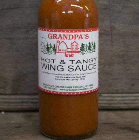 Hot & Tangy Wing Sauce