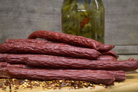Jalapeno Beef Sticks