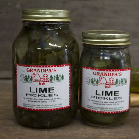 Amish Lime Pickles