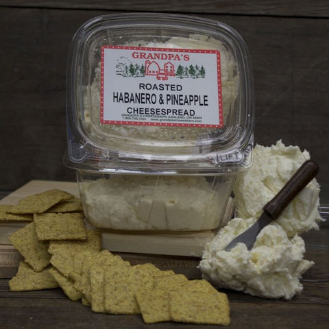 Roasted Pineapple Habanero Cheese Spread