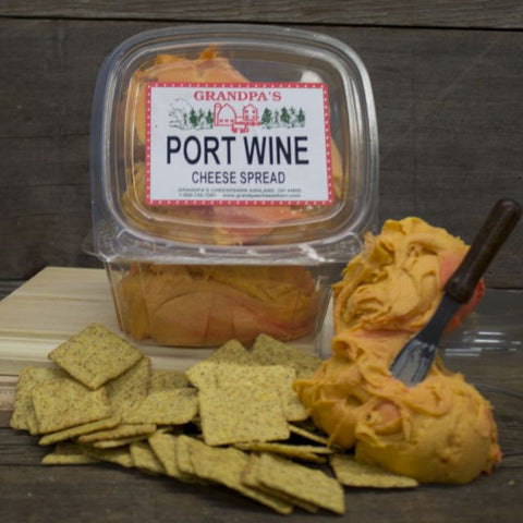 Port Wine Cheddar Cheese Spread