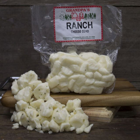Ranch Cheddar Cheese Curds