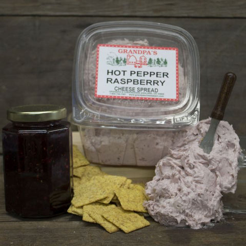 Hot Pepper Raspberry Cheese Spread