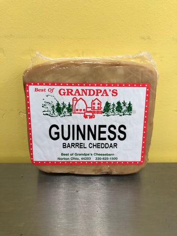 Guinness Barrel Cheddar