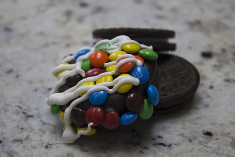 Loaded M&M Oreos