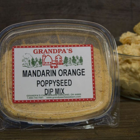 Mandarin Orange & Poppyseed Dip Mix