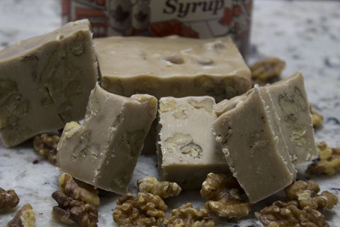 Maple Syrup Nut Fudge
