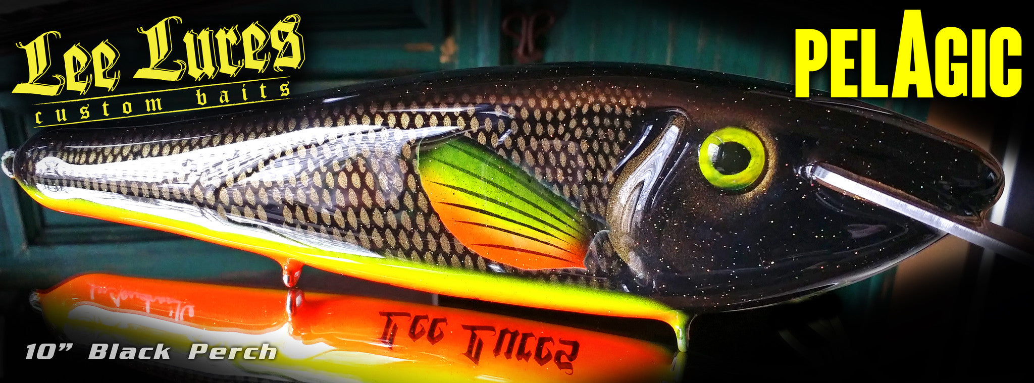 Lee Lures Custom Baits