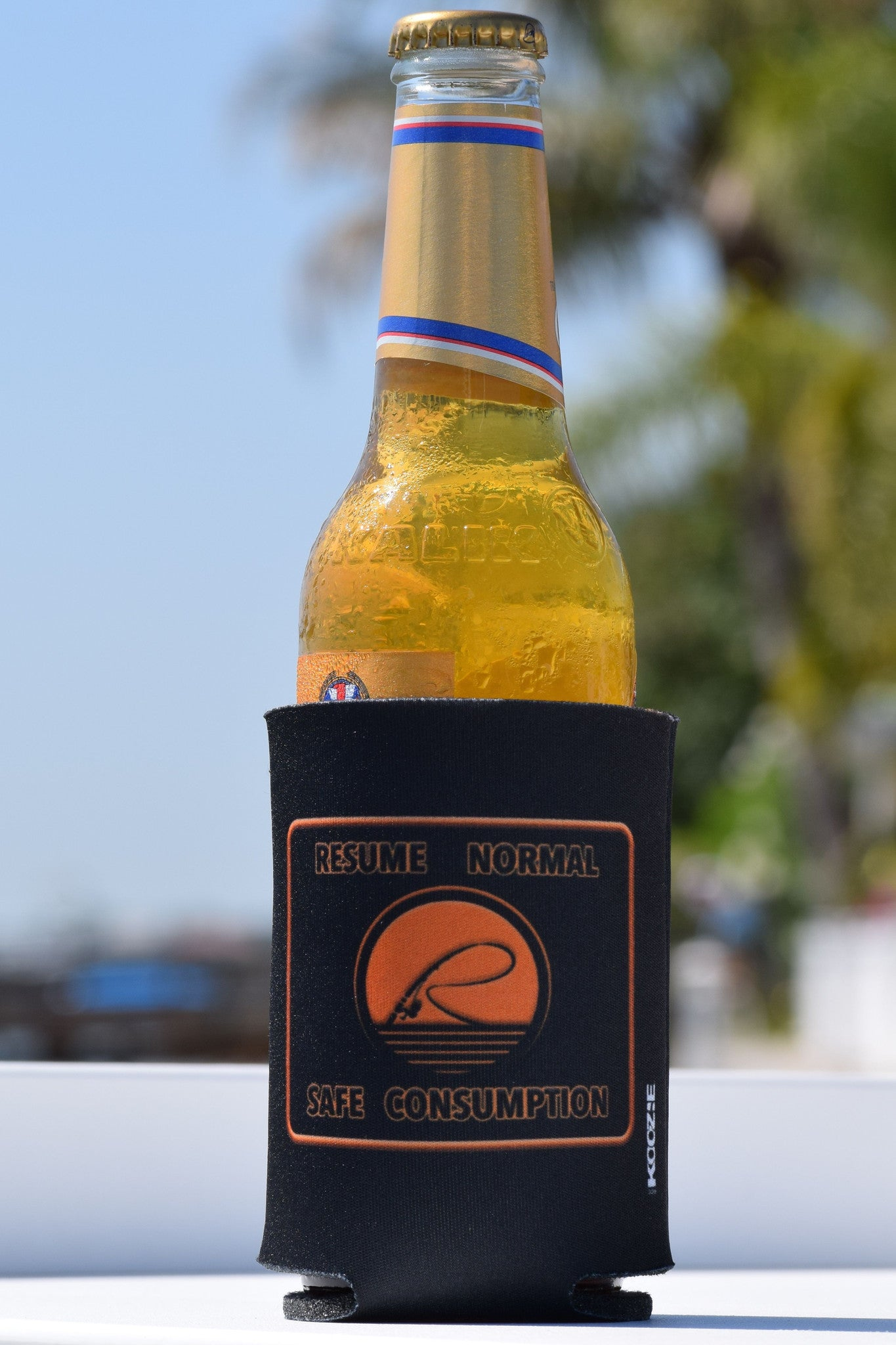 Resume Normal Safe Consumption Koozie - Reelaxed Apparel
