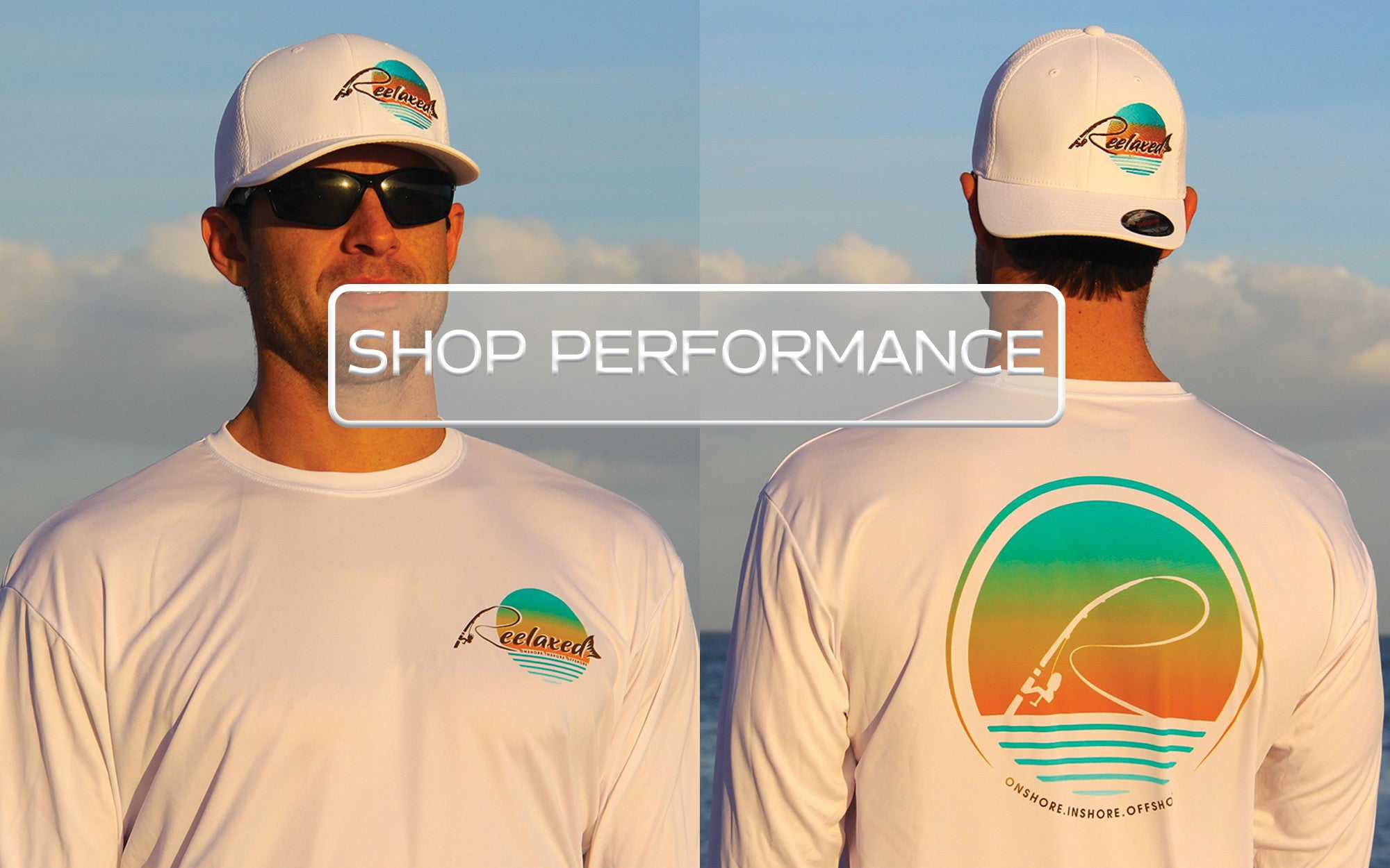 Performance Fishing Shirts Mens Womens Long Sleeve Fishing Boating Beach Bar Sun Protection UPV UPF