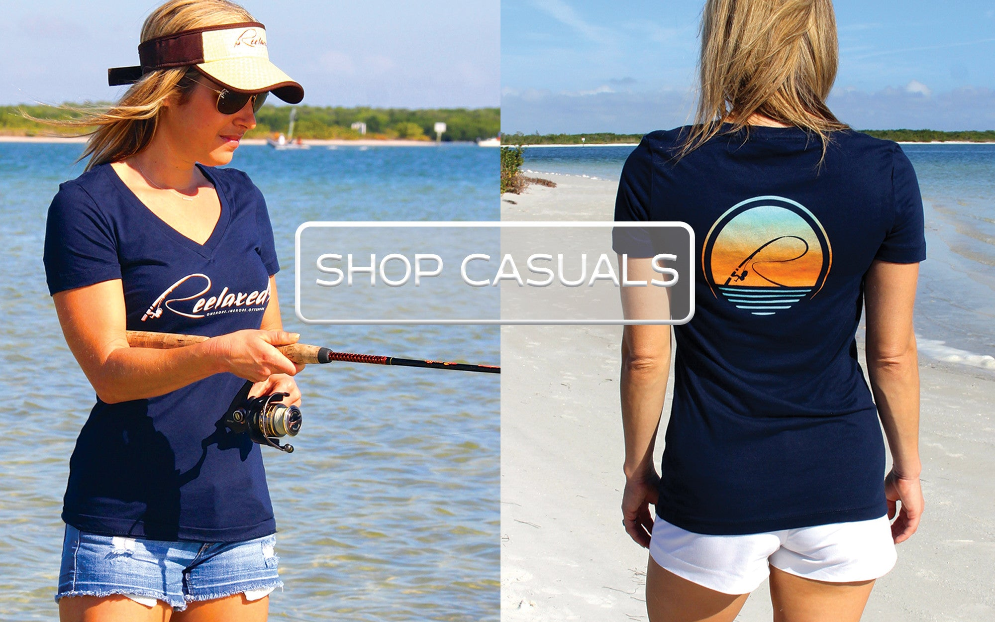 Womens Casual Short Sleeve Beach Fishing Boating Shirts Tanks Vnecks