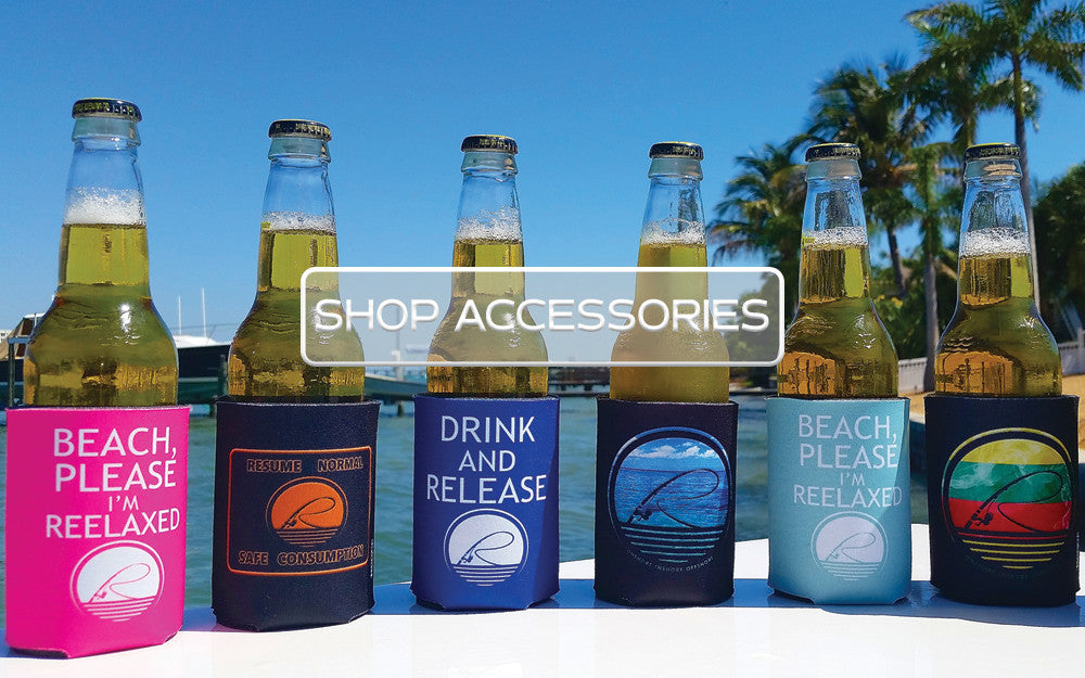 Koozie Drink Holder Beer Soda Fishing Boating Beach Bar