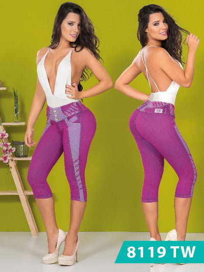 Top Women  Capri - awesome jeans colombia