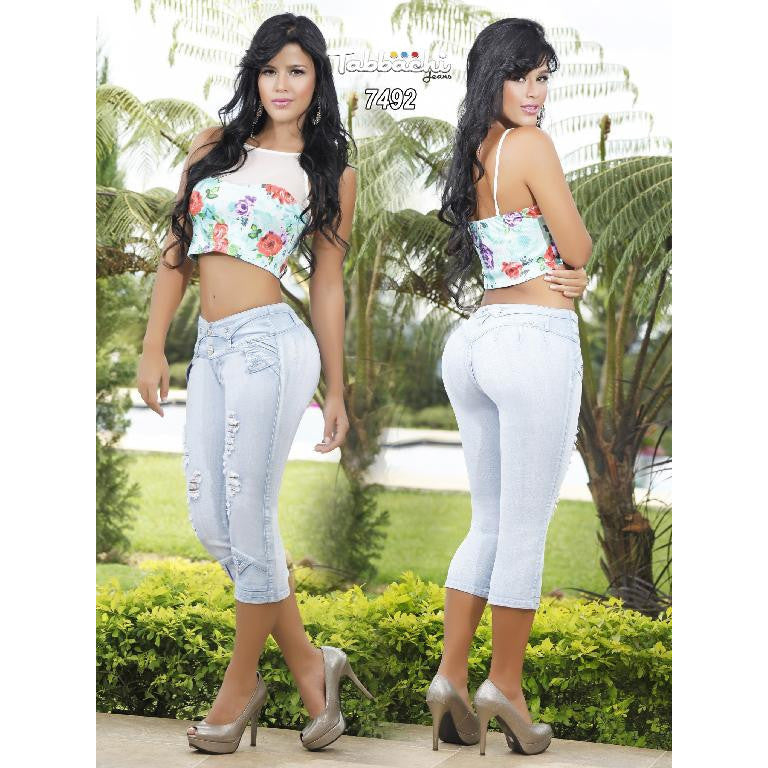 Jeans Dama Levantacola Colombiano Cheviotto SIZE 5 USA 10 COL - awesome jeans colombia