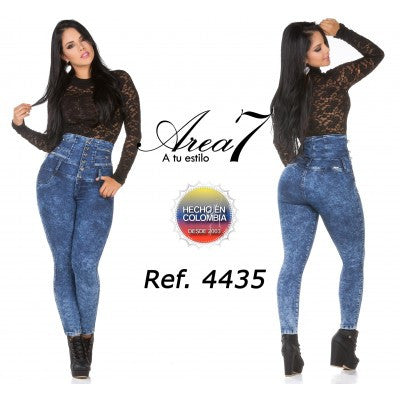 Hight waist Area 7 - awesome jeans colombia