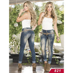 Jeans Levantacola Colombiano Asi Sea  Ref. 124 -0821 size 3 USA 8 COL - awesome jeans colombia