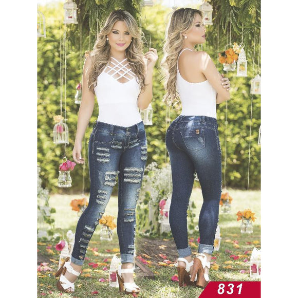 Jeans Levantacola Colombiano Asi Sea  Ref. 124 -0831 size 1 USA 6 COL - awesome jeans colombia