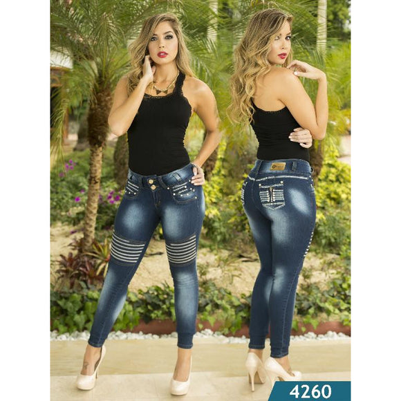 Jean Levantacola Colombiano Kapriccio  Ref. 126 -4260 SIZE 5 USA 10 COL NEWLY ARRIVED - awesome jeans colombia