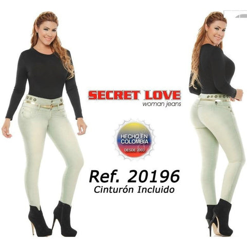 20196PAP-N JEANS LEVANTACOLA SIZE 3 USA 8 COL - awesome jeans colombia