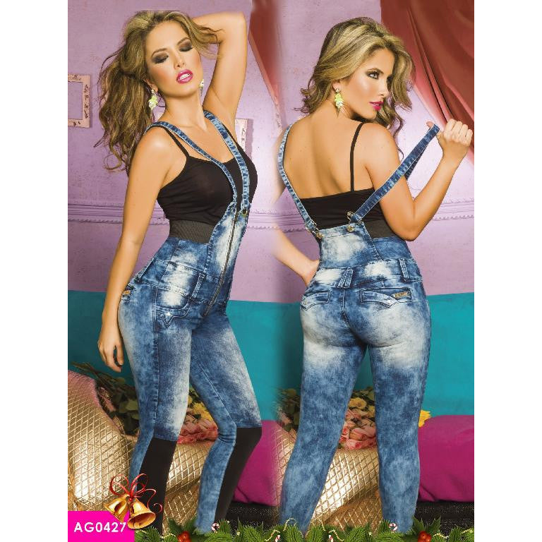 Enterizos Levantacola Colombiano Asi Sea  Ref. 124 -0427 SIZE 9 USA 14 COL - awesome jeans colombia