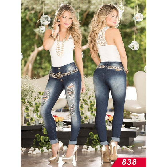 Jeans Levantacola Colombiano Asi Sea  Ref. 124 -0838 SIZE 5 USA 10 COL - awesome jeans colombia