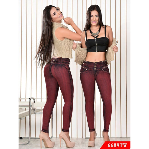 Jeans Levantacola Top Women - awesome jeans colombia