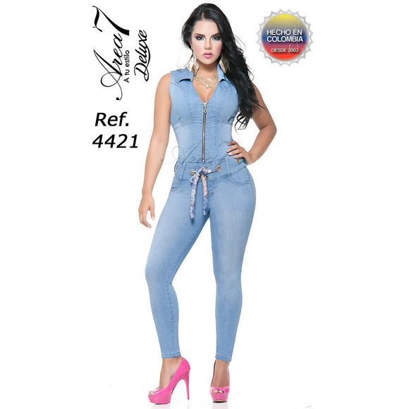 4421EP-N JEANS LEVANTACOLA SIZE 7 USA 12 COL - awesome jeans colombia