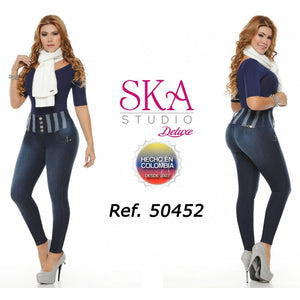 50452TAP-N JEANS LEVANTACOLA SIZE 5 USA 10 COL - awesome jeans colombia