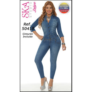 50418EP-N JEANS LEVANTACOLA SIZE 7 USA 12 COL - awesome jeans colombia