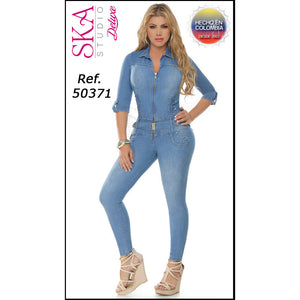50371EP-R JEANS LEVANTACOLA SIZE 7 USA 12 COL - awesome jeans colombia