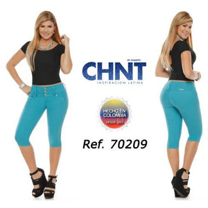 70209CAPA-N BUMP UP CAPRIS SIZE 5 USA 10 COL - awesome jeans colombia