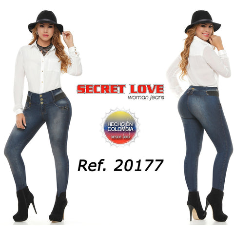 20177PAP-N JEANS LEVANTACOLA SIZE 5 USA 10 COL - awesome jeans colombia