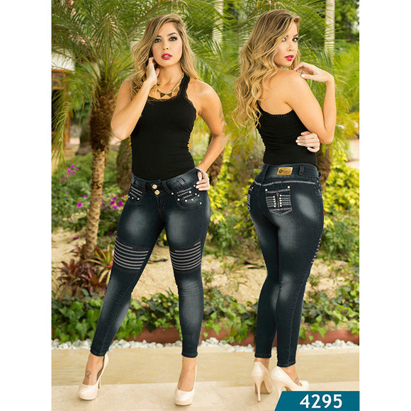 Jean Levantacola Colombiano Kapriccio  Ref. 126 -4295 SIZE 5 USA 10 COL - awesome jeans colombia
