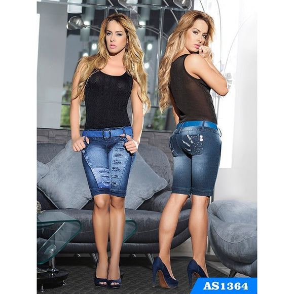 Capri Levantacola Colombiano Asi Sea  Ref. 124 -1364 SIZE 5 USA 10 COL NEWLY ARRIVED - awesome jeans colombia