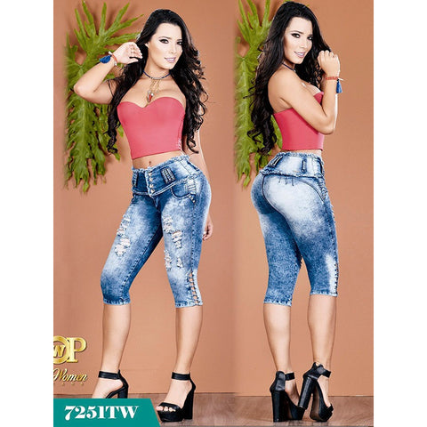 Capri  Top Women - awesome jeans colombia