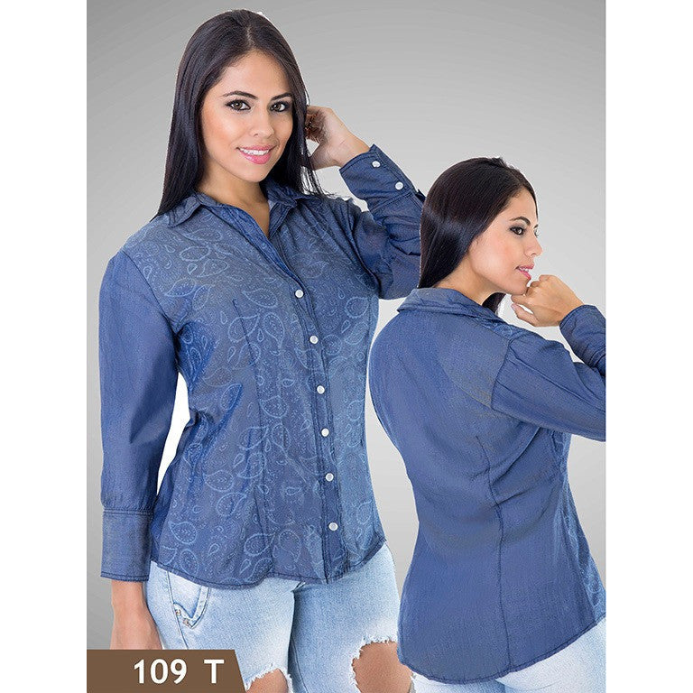 Blusas Moda Tabbachi  Ref. 236 -109T SIZE L M - awesome jeans colombia