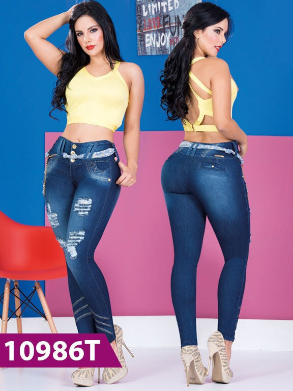 Jeans Levantacola Tabbachi - awesome jeans colombia