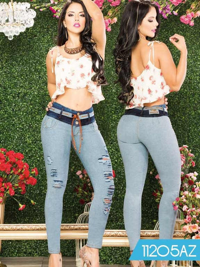 Jeans Azulle - awesome jeans colombia