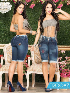 Torero Azulle - awesome jeans colombia