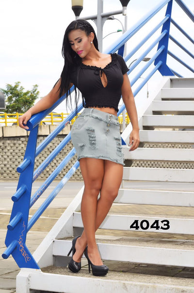 Falda Short Rakket - awesome jeans colombia