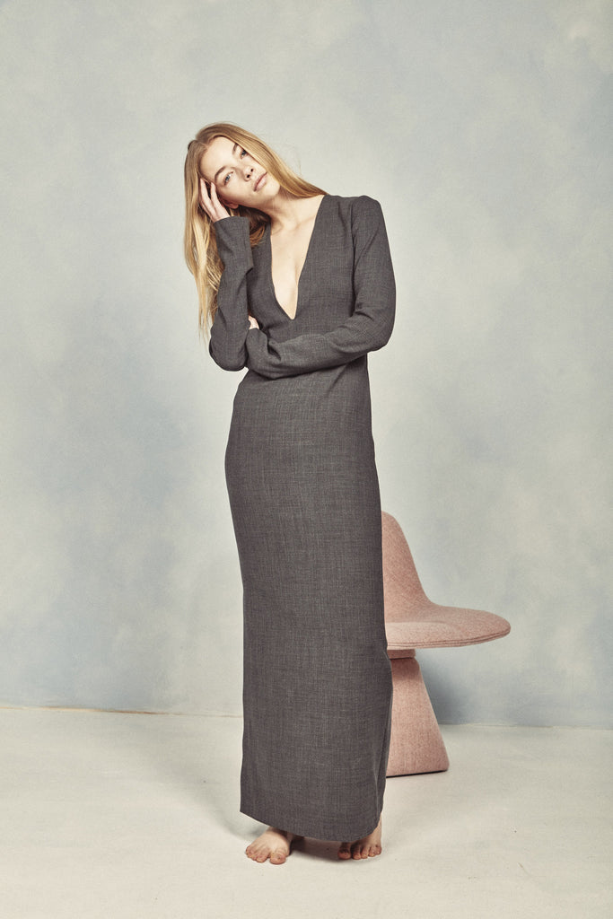 Tom Dress – Woven Wool