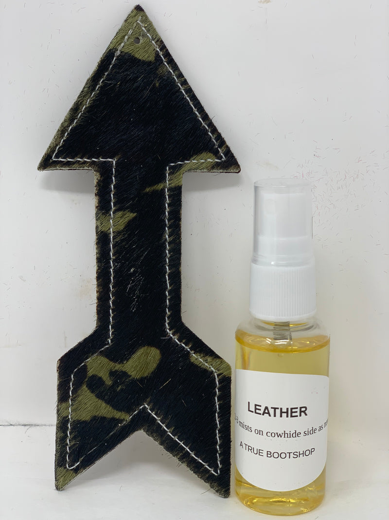 Leather & Cowhide Air Freshener Charm-Camo