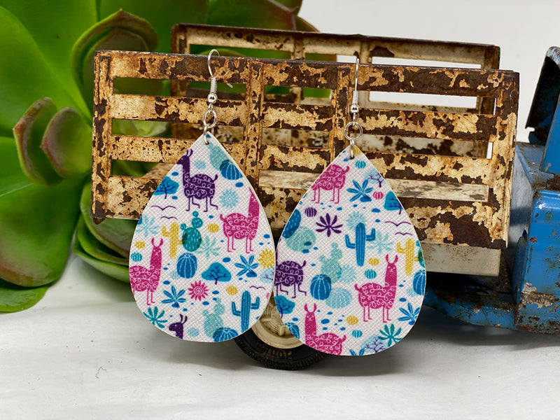Large Earrings-Pattern