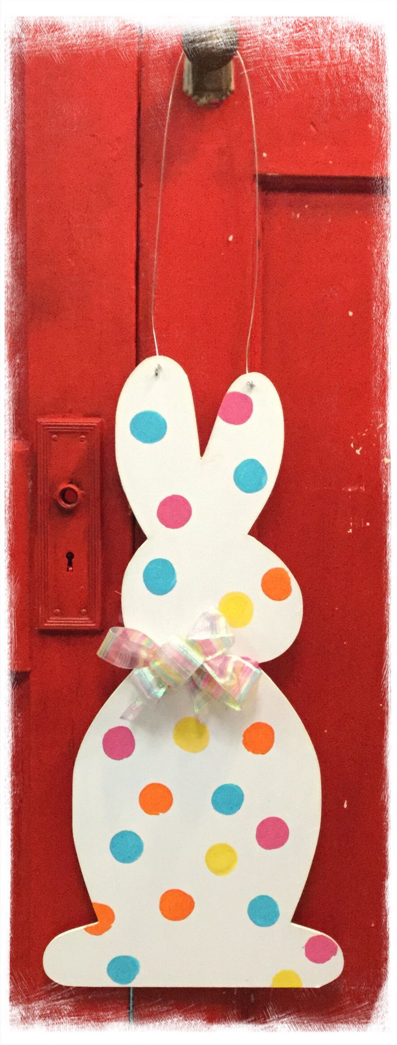 Cute Bunny Door Hanger