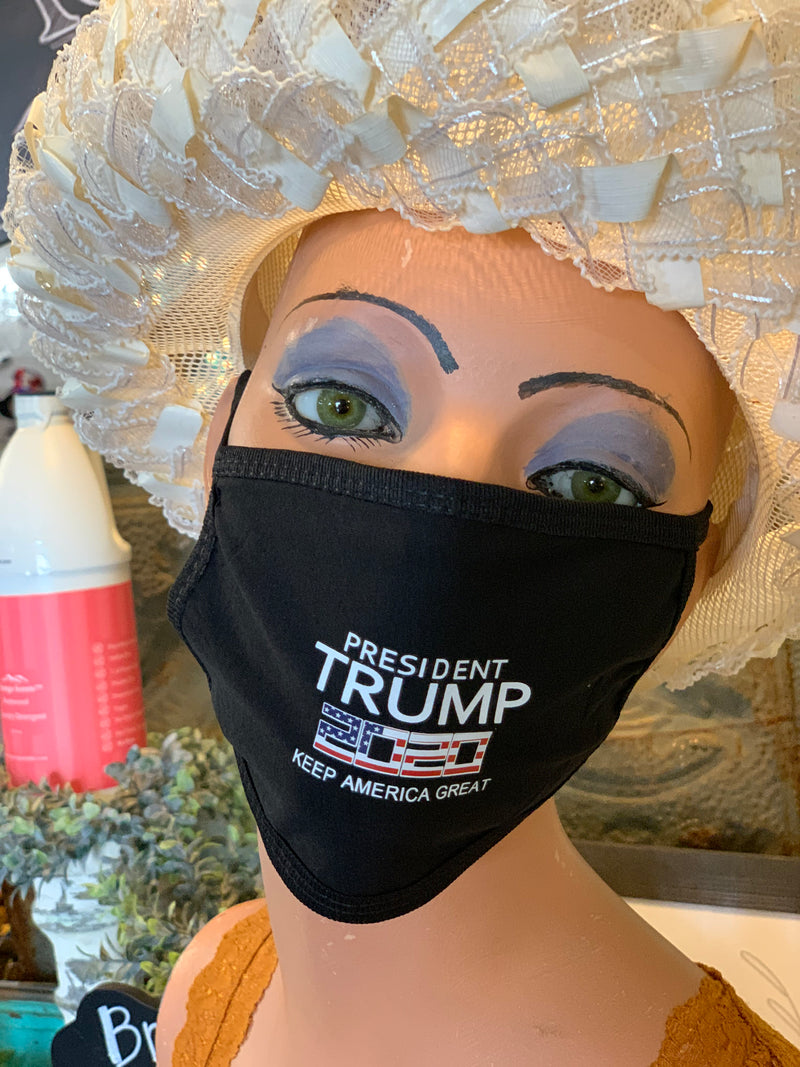 Adult Soft Masks-Trump