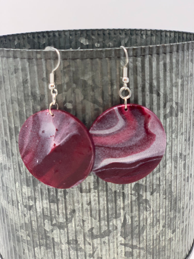 Clay Earrings- Handcrafted